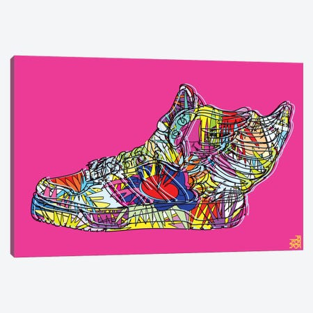 adidas by Jeremy Scott (Wings 2.0) Canvas Print #TDR2} by TECHNODROME1 Canvas Wall Art