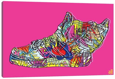 adidas by Jeremy Scott (Wings 2.0) Canvas Art Print