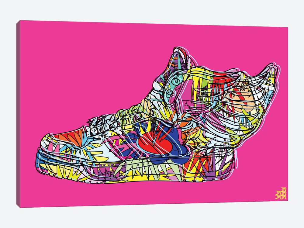 adidas by Jeremy Scott (Wings 2.0) by TECHNODROME1 1-piece Canvas Art
