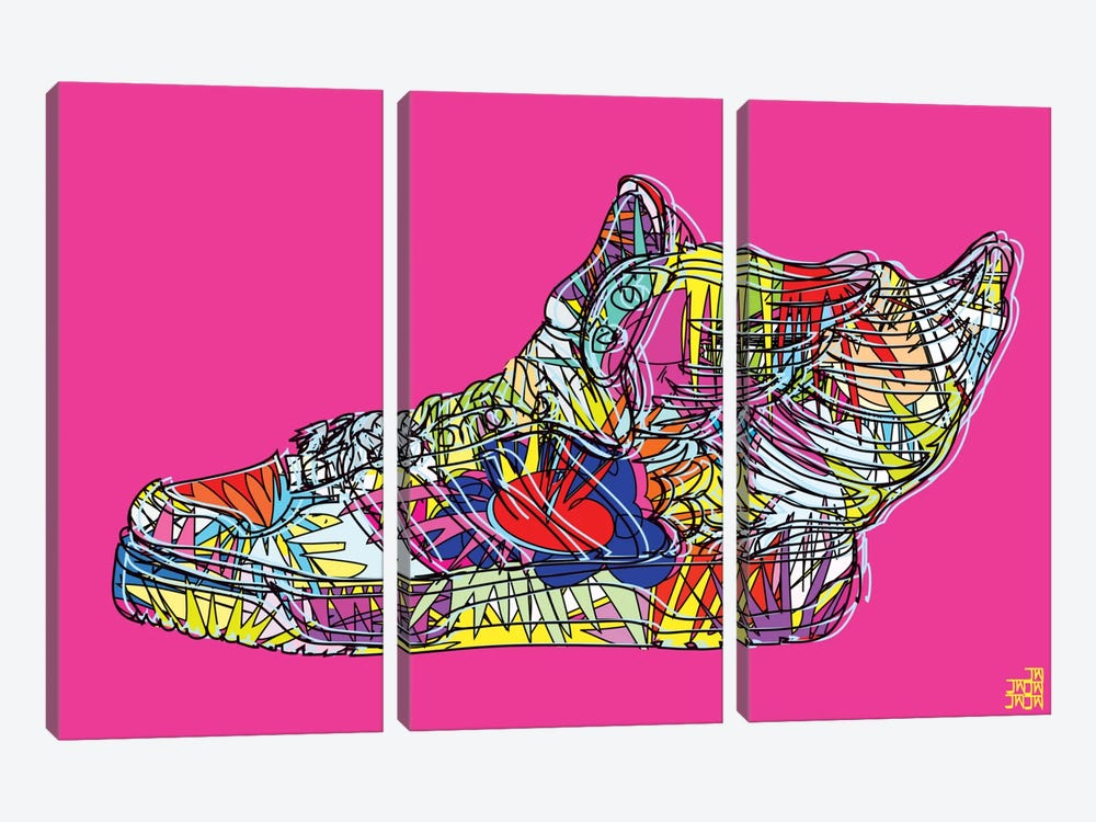 adidas by Jeremy Scott (Wings 2.0) by TECHNODROME1 3-piece Canvas Artwork