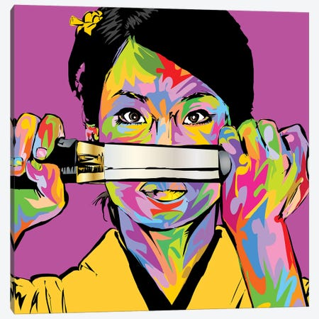 Oren Ishii Canvas Print #TDR300} by TECHNODROME1 Canvas Print