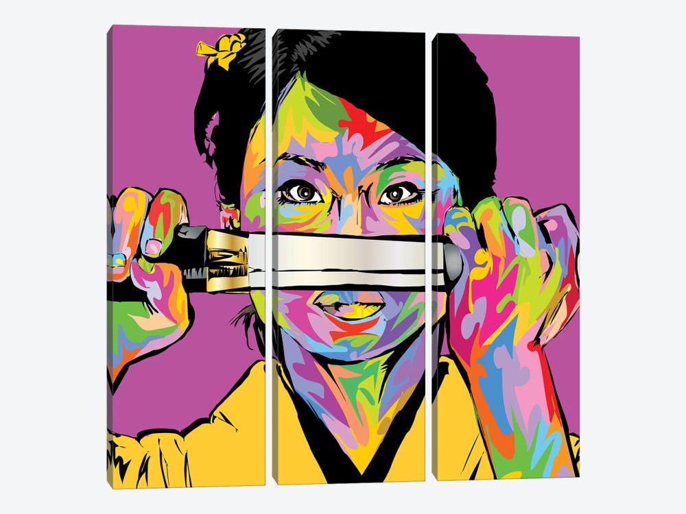Oren Ishii by TECHNODROME1 3-piece Canvas Wall Art