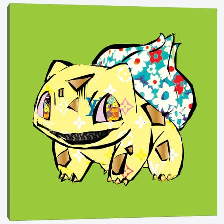 Bulba Canvas Print #TDR306} by TECHNODROME1 Canvas Wall Art