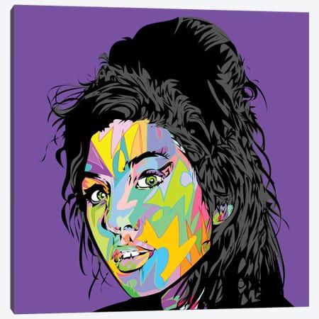 Amy RIP 2019 Canvas Print #TDR311} by TECHNODROME1 Canvas Artwork