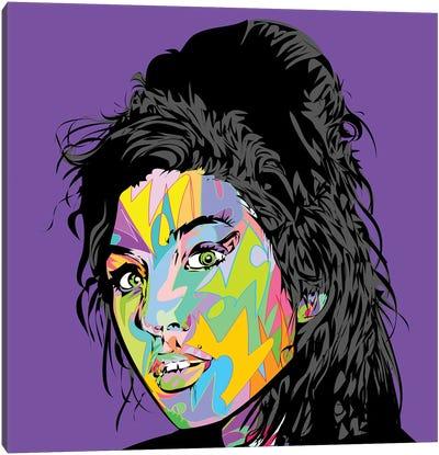 Amy RIP 2019 Canvas Art Print