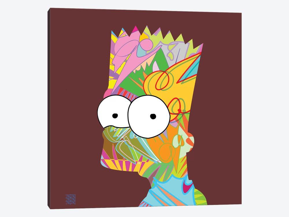 Bart 2019 by TECHNODROME1 1-piece Canvas Art Print