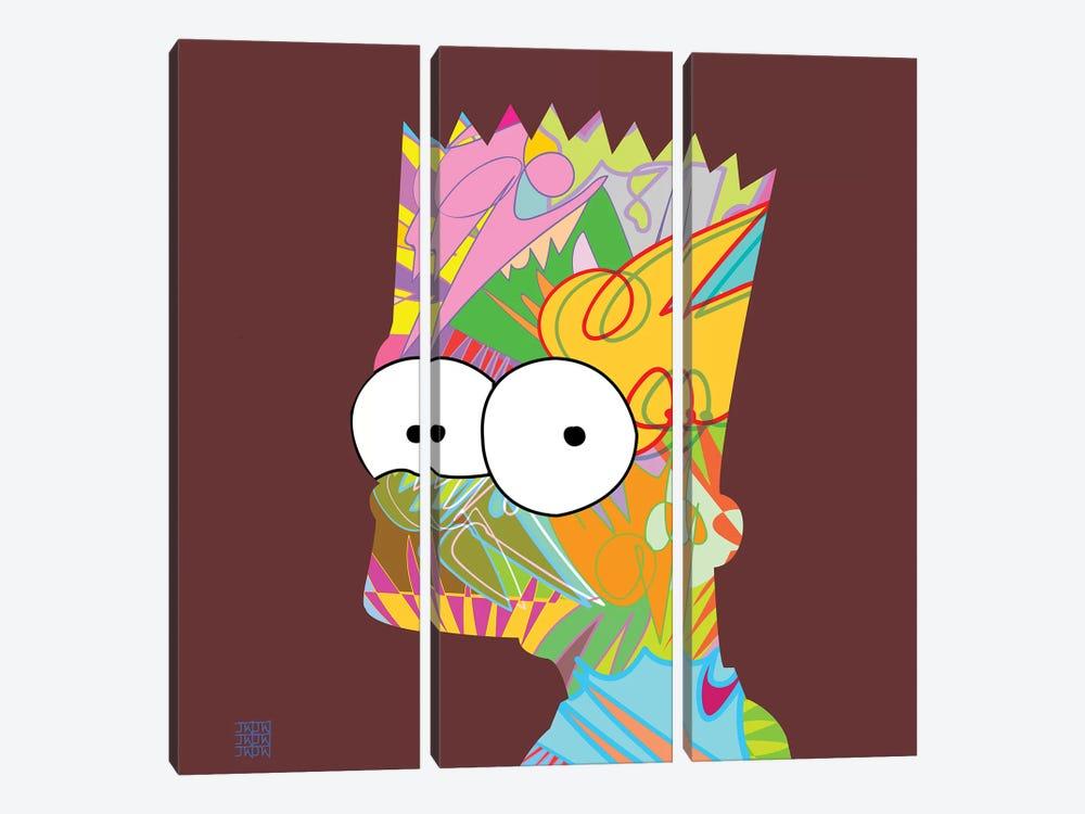 Bart 2019 by TECHNODROME1 3-piece Art Print
