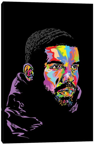 Drake Black 2019 Canvas Art Print