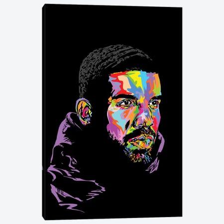 Drake Black 2019 Canvas Print #TDR315} by TECHNODROME1 Art Print