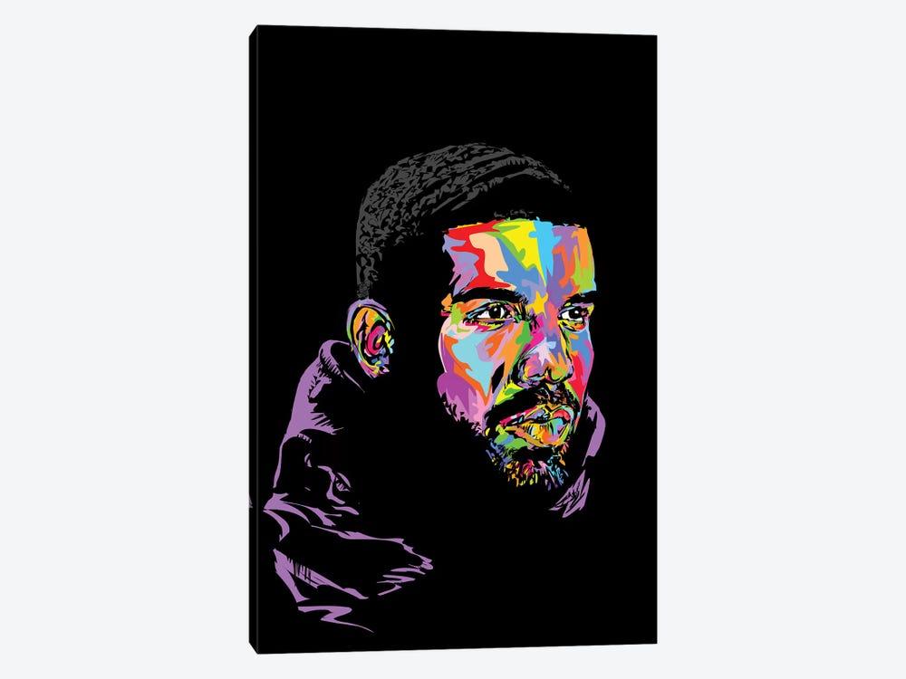 Drake Black 2019 by TECHNODROME1 1-piece Canvas Art