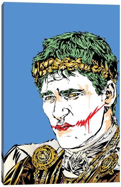 Thumbs Down Joker Canvas Art Print