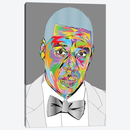 Jigga Man 2019 Canvas Print #TDR318} by TECHNODROME1 Canvas Art