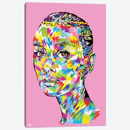 Hepburn Swag Canvas Print #TDR31} by TECHNODROME1 Art Print