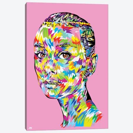 Hepburn Swag Canvas Print #TDR31} by TECHNODROME1 Art Print