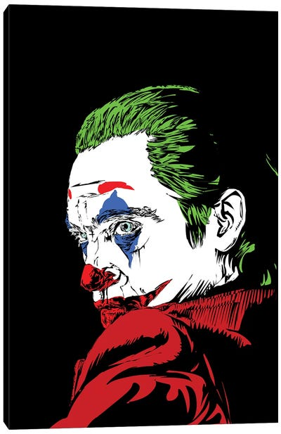 The Real Joker Canvas Art Print