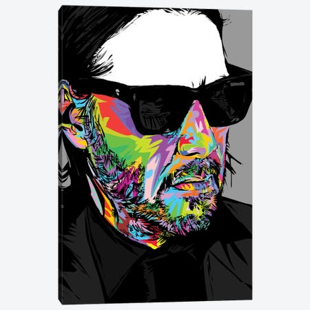 Keanu 2019 Canvas Print #TDR322} by TECHNODROME1 Canvas Art Print