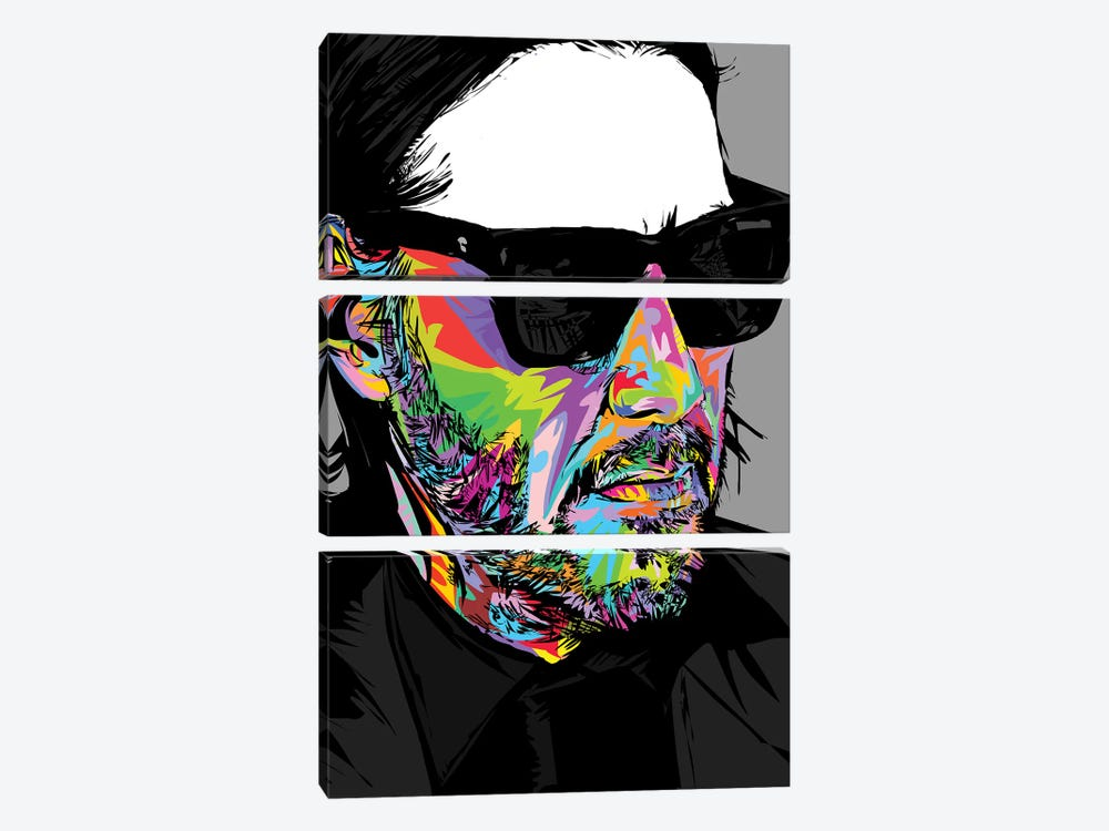 Keanu 2019 by TECHNODROME1 3-piece Canvas Artwork