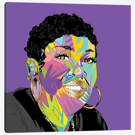 Missy 2019 Canvas Print #TDR324} by TECHNODROME1 Canvas Art
