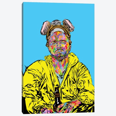 Pinkman 2019 Canvas Print #TDR326} by TECHNODROME1 Canvas Wall Art
