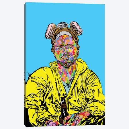 Pinkman 2019 Canvas Print #TDR326} by TECHNODROME1 Canvas Wall Art