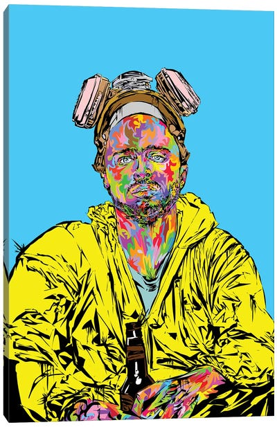 Pinkman 2019 Canvas Art Print