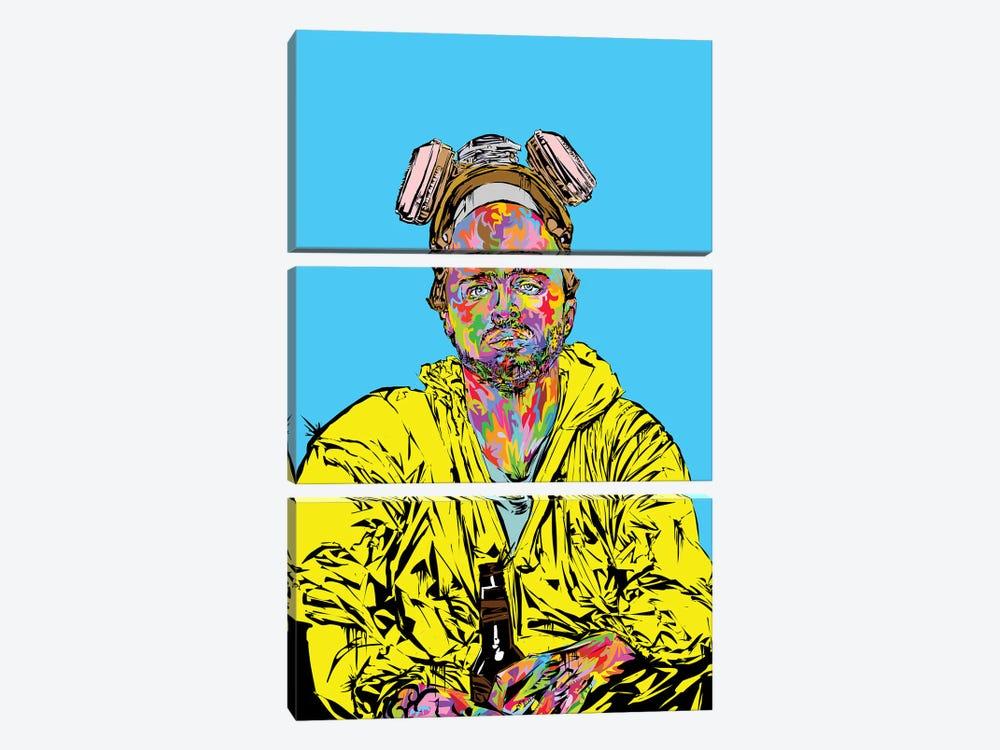 Pinkman 2019 by TECHNODROME1 3-piece Canvas Wall Art