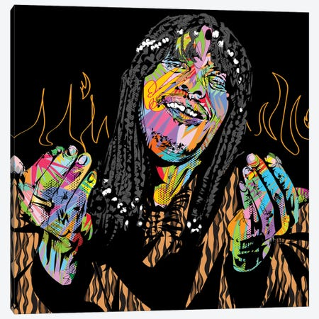 I'm Rick James Bitch Canvas Print #TDR327} by TECHNODROME1 Canvas Wall Art