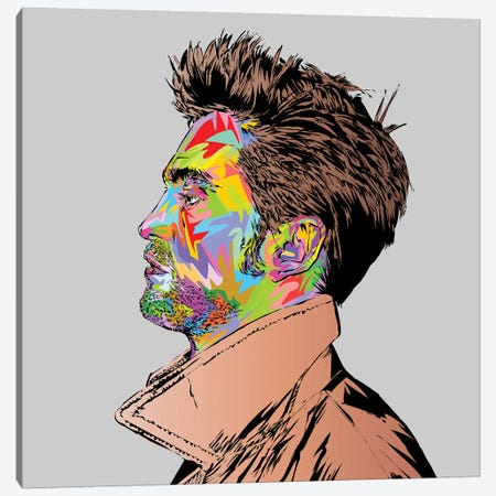 Pattinson Canvas Print #TDR328} by TECHNODROME1 Canvas Art Print