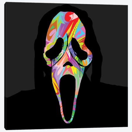 Scream 2019 Canvas Print #TDR329} by TECHNODROME1 Art Print