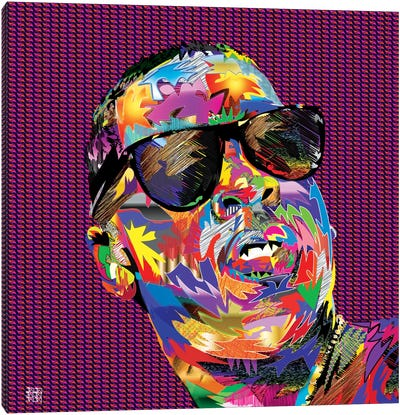 Jay-Z Canvas Art Print