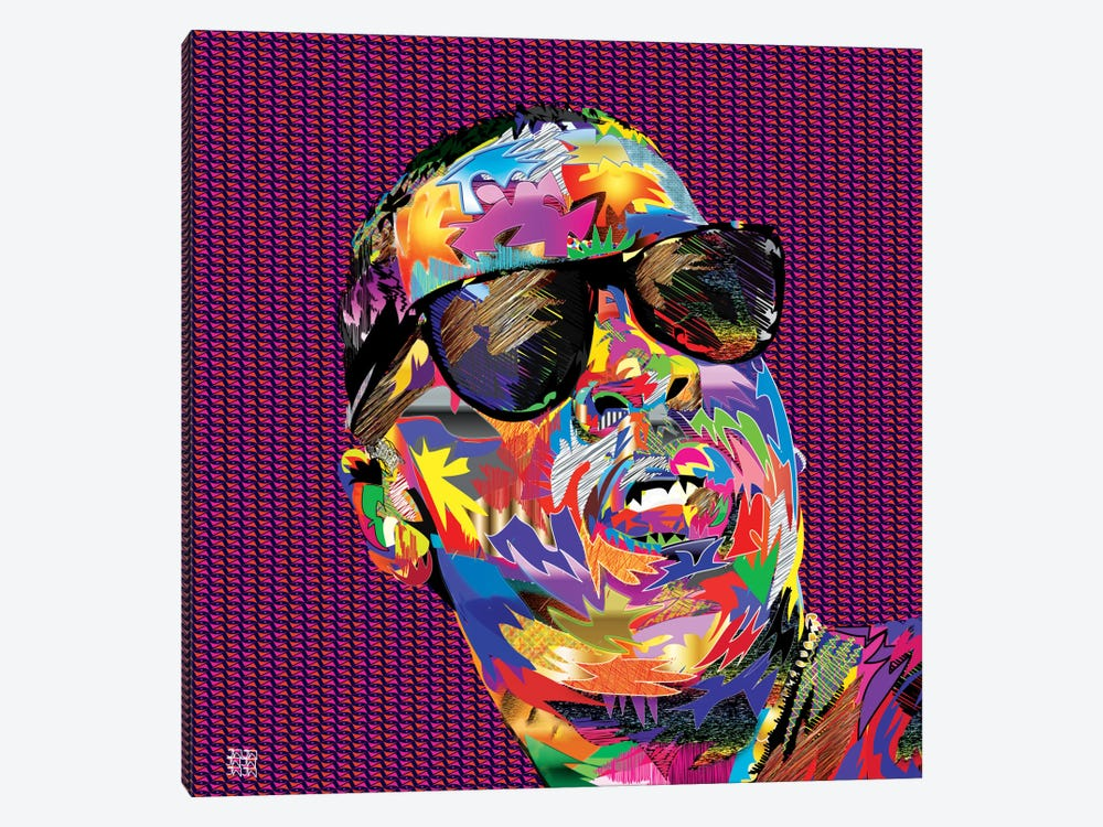 Jay-Z by TECHNODROME1 1-piece Canvas Art Print