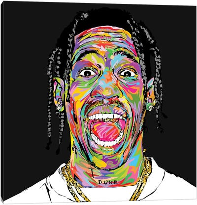 Travis 2019 Canvas Art Print