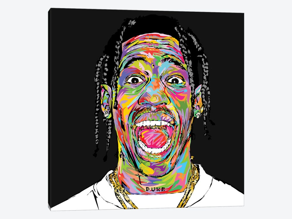 Travis 2019 by TECHNODROME1 1-piece Canvas Artwork