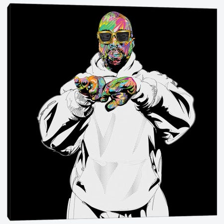 Yeezy Sundays 2019 Canvas Print #TDR332} by TECHNODROME1 Canvas Artwork