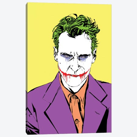 The Master Joker Canvas Print #TDR333} by TECHNODROME1 Canvas Artwork