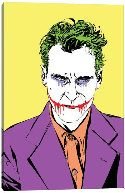 The Master Joker Canvas Art Print