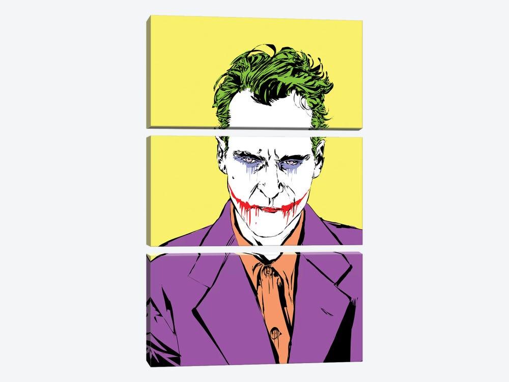 The Master Joker by TECHNODROME1 3-piece Canvas Wall Art