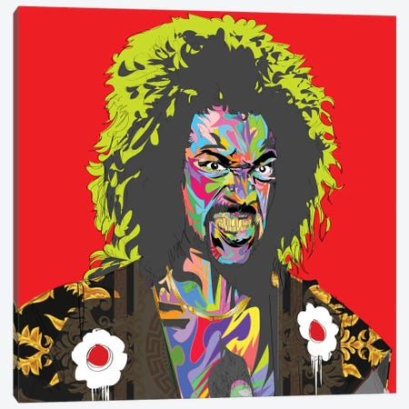 Shonuff 2019 Canvas Print #TDR334} by TECHNODROME1 Canvas Art Print