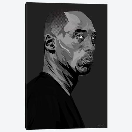 RIP Kobe Canvas Print #TDR336} by TECHNODROME1 Canvas Art Print