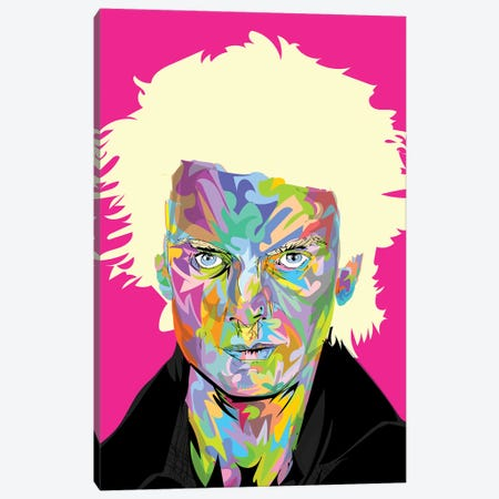 Sting 2020 Canvas Print #TDR337} by TECHNODROME1 Canvas Art Print