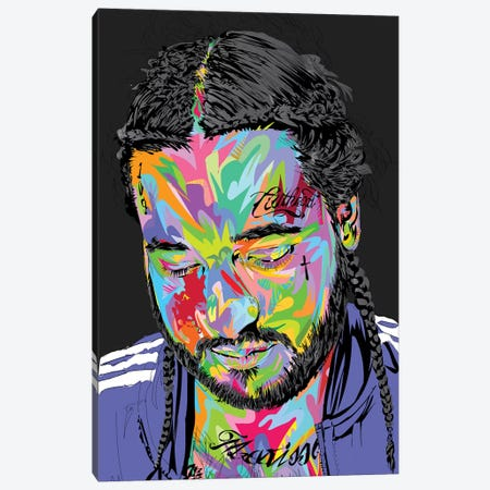 RIP Yams 2020 Canvas Print #TDR338} by TECHNODROME1 Canvas Wall Art