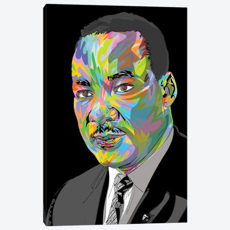 MLK 2020 Canvas Print #TDR339} by TECHNODROME1 Canvas Art