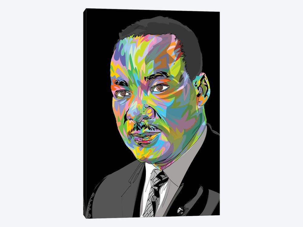 MLK 2020 by TECHNODROME1 1-piece Canvas Wall Art