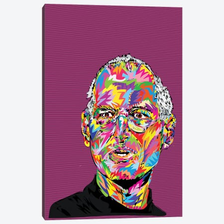 Jobs Canvas Print #TDR33} by TECHNODROME1 Canvas Art Print