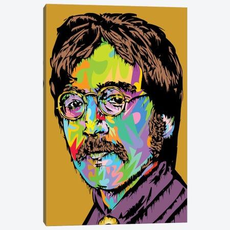 Lennon Canvas Print #TDR341} by TECHNODROME1 Art Print