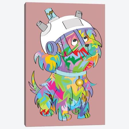 Sentient Dog 2020 Canvas Print #TDR343} by TECHNODROME1 Canvas Art Print