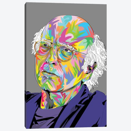 Larry 2020 Canvas Print #TDR346} by TECHNODROME1 Canvas Art
