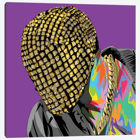 Yay Mask 2020 Canvas Print #TDR350} by TECHNODROME1 Canvas Artwork