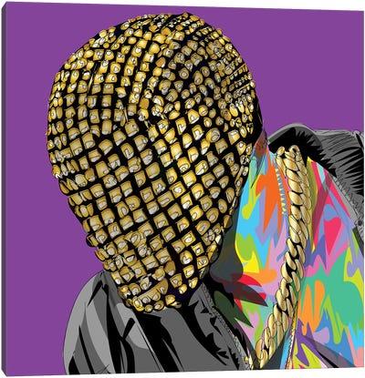 Yay Mask 2020 Canvas Art Print