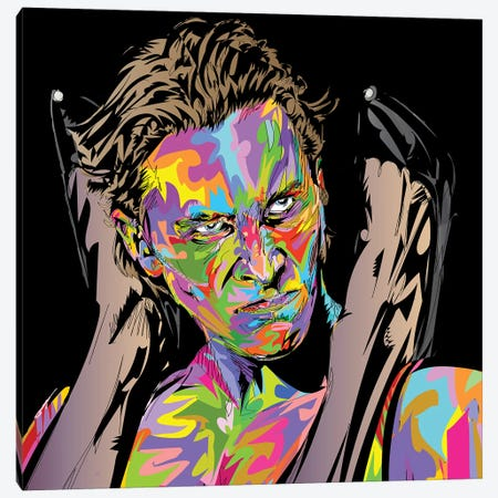 Psycho Fuck Canvas Print #TDR355} by TECHNODROME1 Art Print